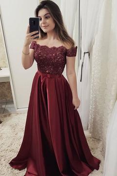 00811005c02fc 2019 Charming Spaghetti Straps Mermaid Long Open Back Prom Dresses. US$  398.00 US$ 199.00. pin. 2019 Sexy Cap Sleeve A-Line Satin Evening Dress  Floor-Length